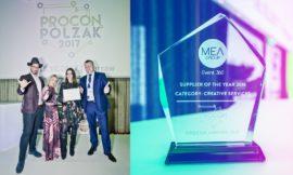 Nasi trenerzy z nagroda PROCON 2017