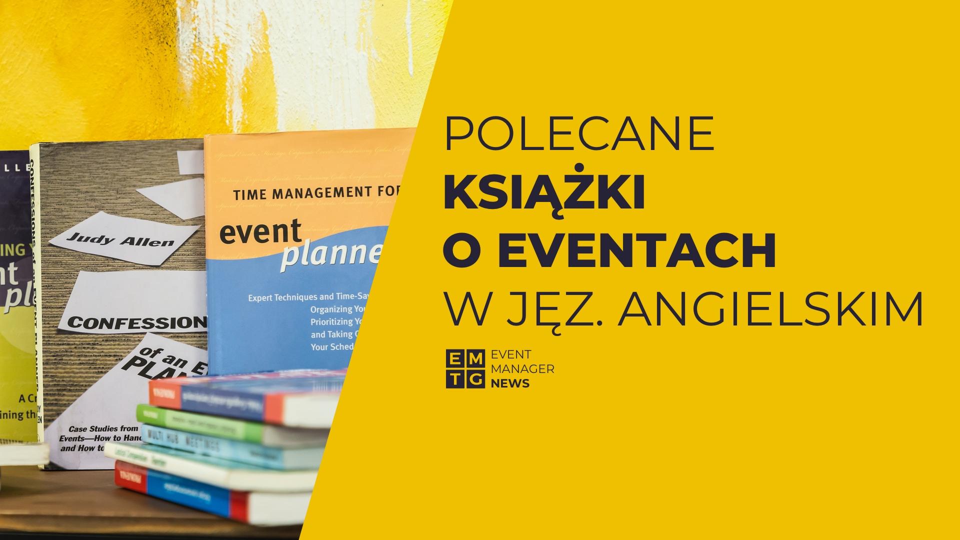 Książki o eventach w języku angielskim