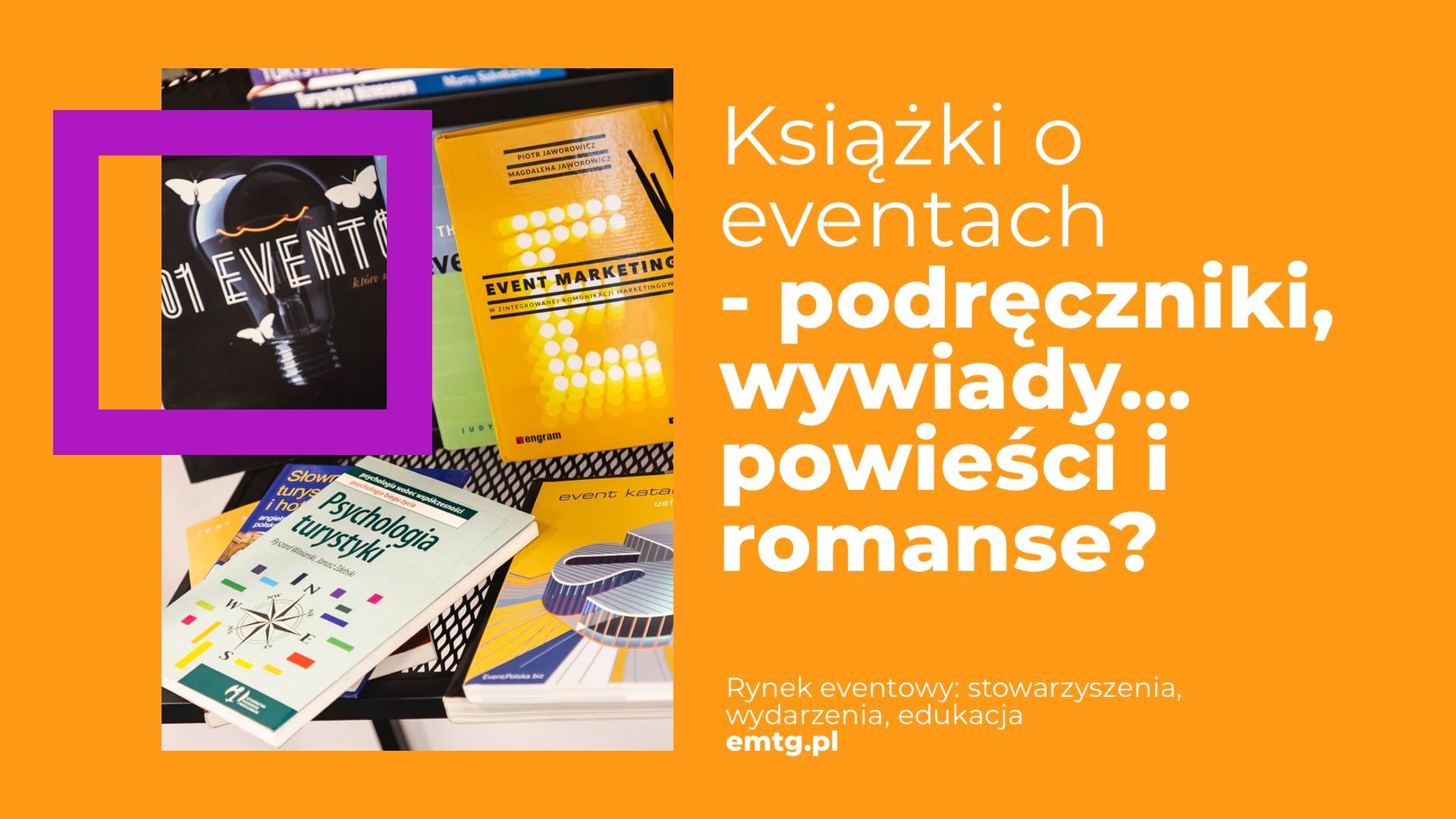 Książki organizacja eventów EMTG
