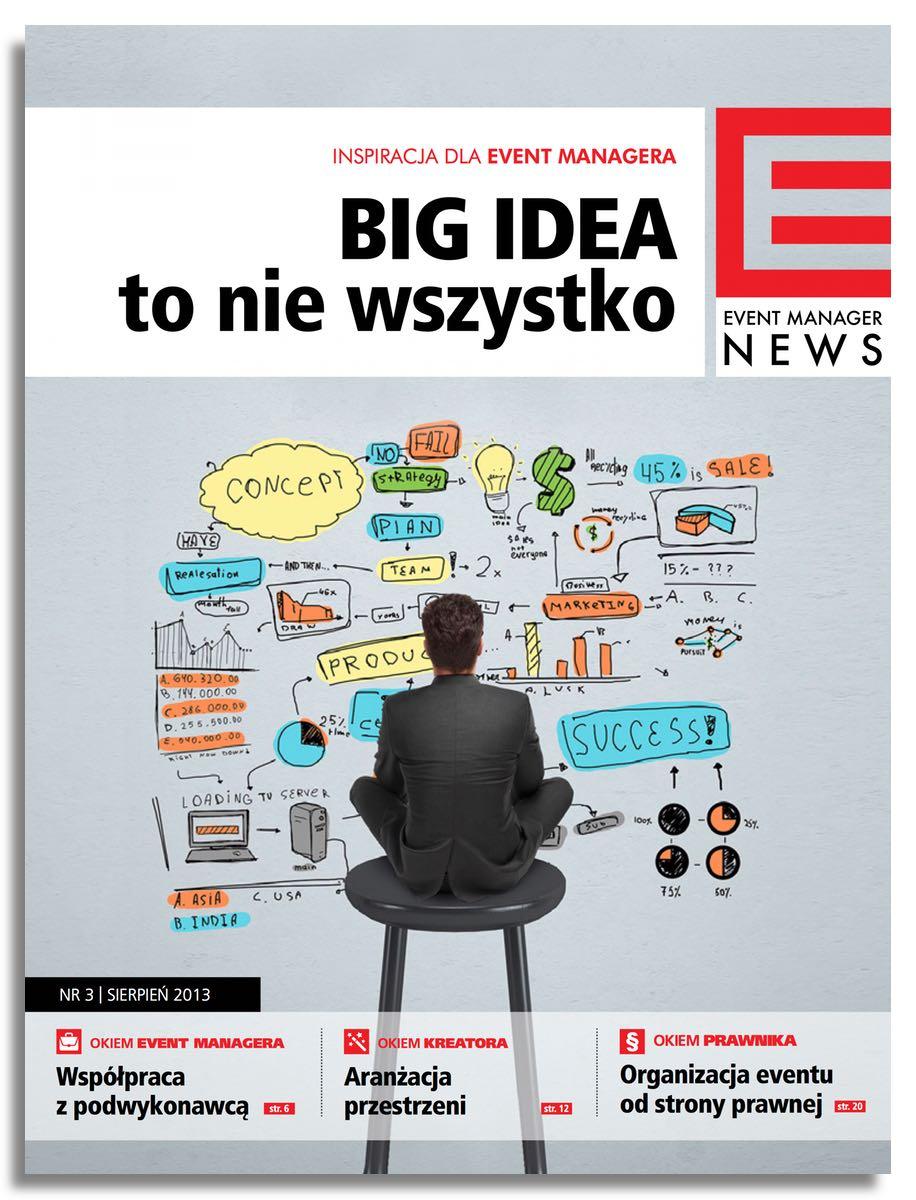 Event Manager News Nr 3 sierpień 2013