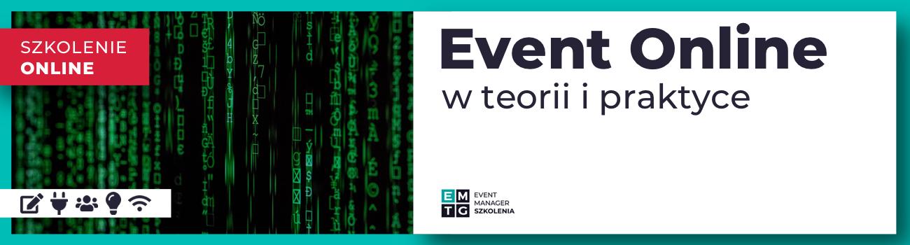 Szkolenie event online w teorii i praktyce EMTG