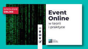 Szkolenie jak zorganizować event online teoria praktyka EMTG