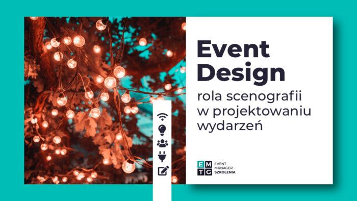 Szkolenie Event Design scenografia eventowa EMTG