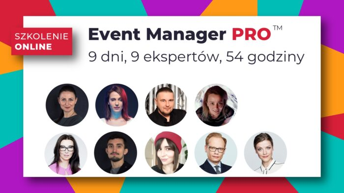 Event Manager PRO szkolenie online